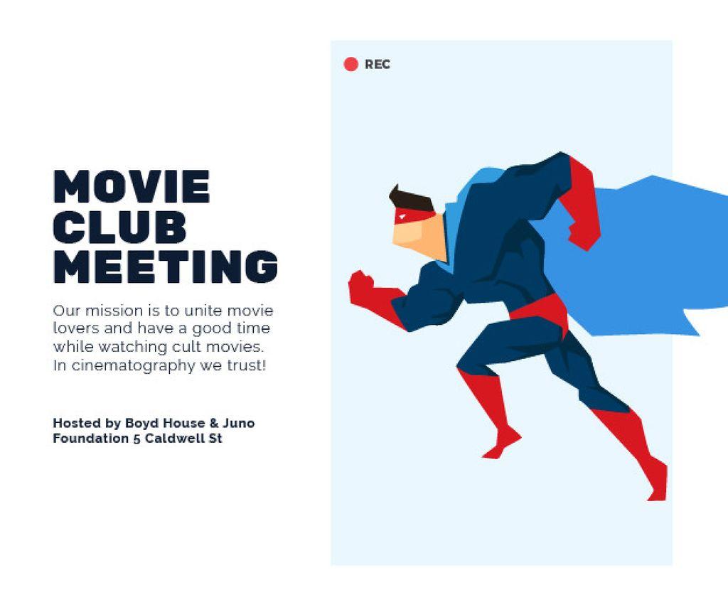 Movie club meeting — Create a Design