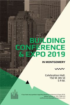 Building conference and expo banner