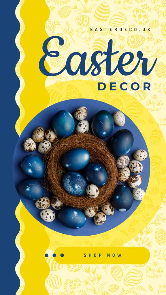 Colored Easter eggs — ein Design erstellen