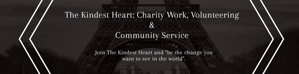 The Kindest Heart: Charity Work — Crear un diseño