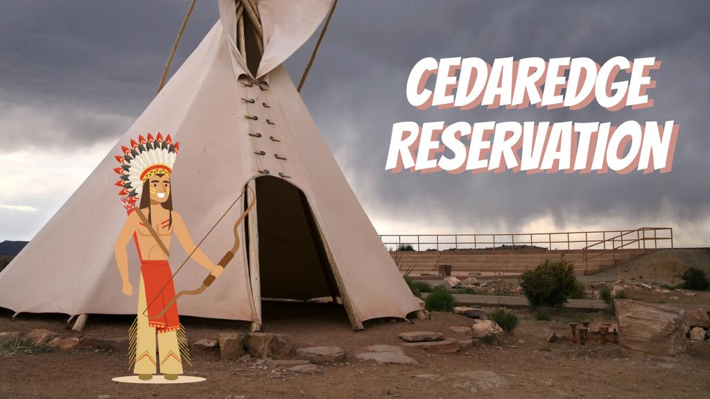 Native American Shooting with Arrow — Створити дизайн