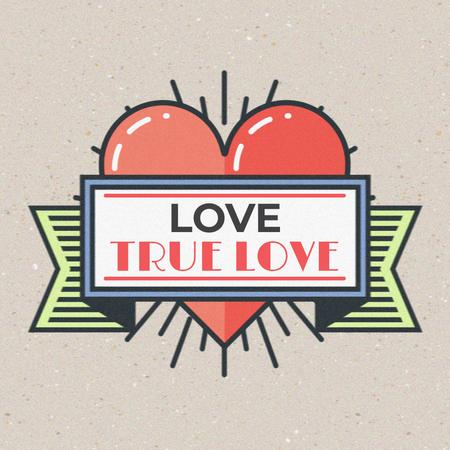 truelove Animated Post Modelo de Design
