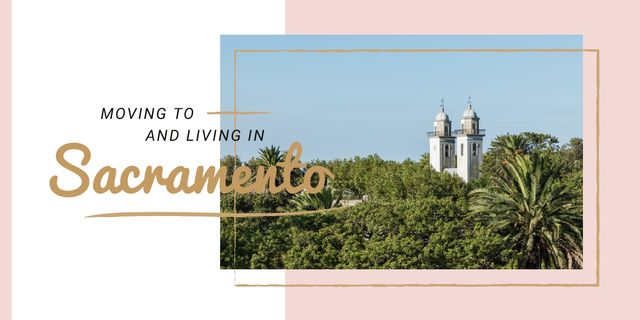 Sacramento city view Image – шаблон для дизайна
