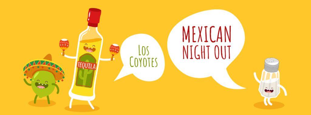 Dancing tequila, lime and salt characters — Maak een ontwerp