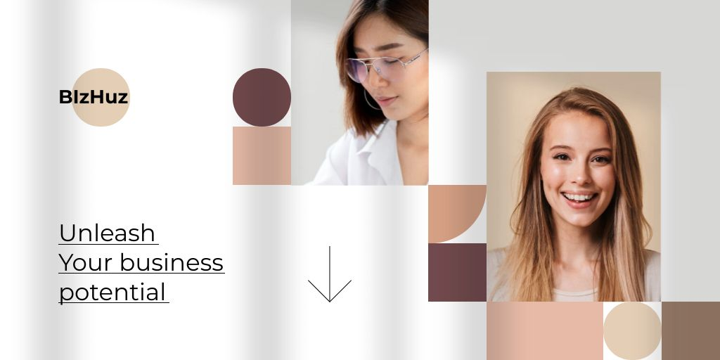 Smiling young Businesswomen — Crear un diseño