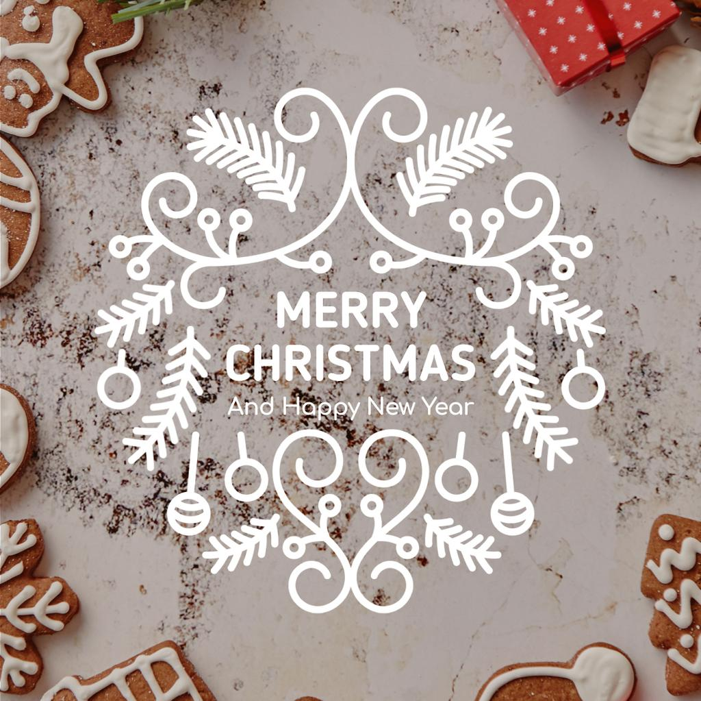 Christmas ginger cookies — Crea un design
