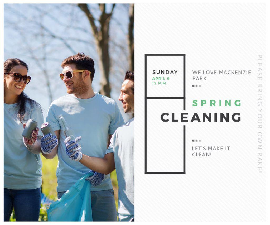 Spring Cleaning in Mackenzie park — Crear un diseño