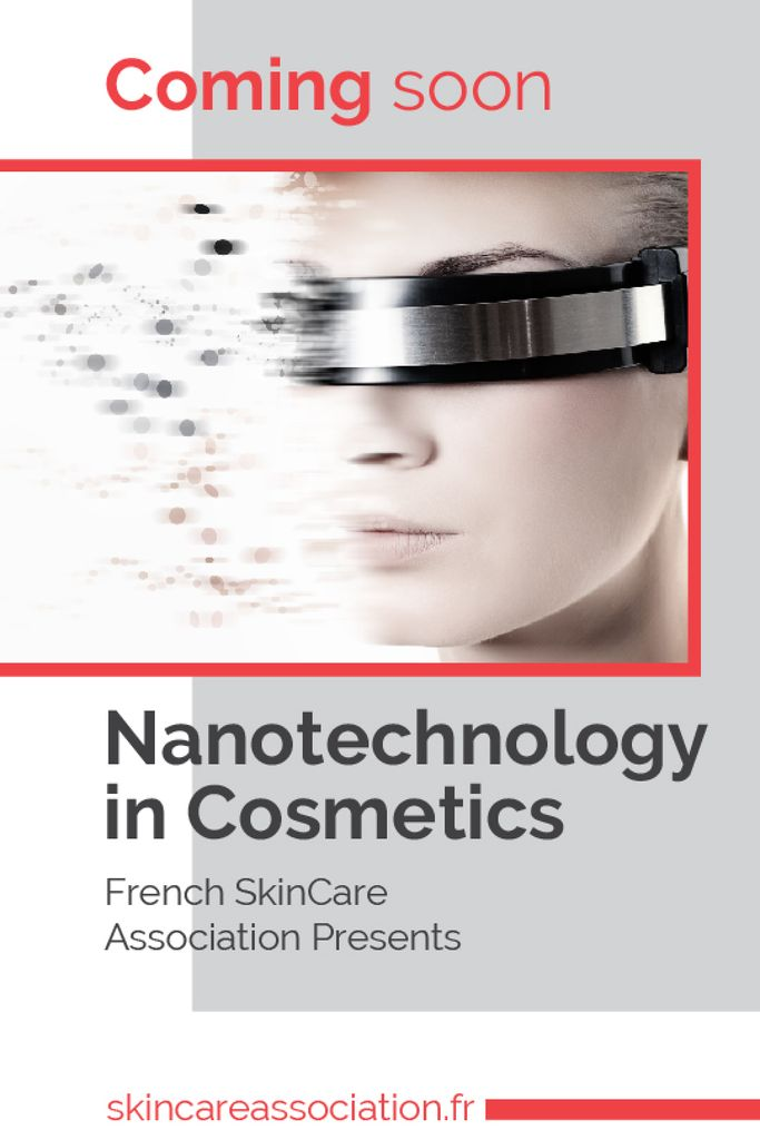 Futuristic Cosmetology technology Tumblr Modelo de Design