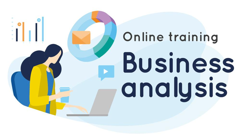 Business Analysis Courses Woman Working on Report — Crear un diseño