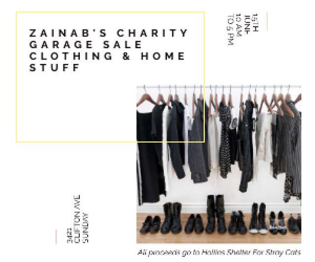 Plantilla de diseño de Zainab's charity Garage Medium Rectangle