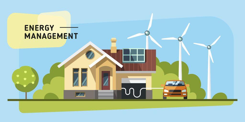 Energy saving technologies Image Modelo de Design