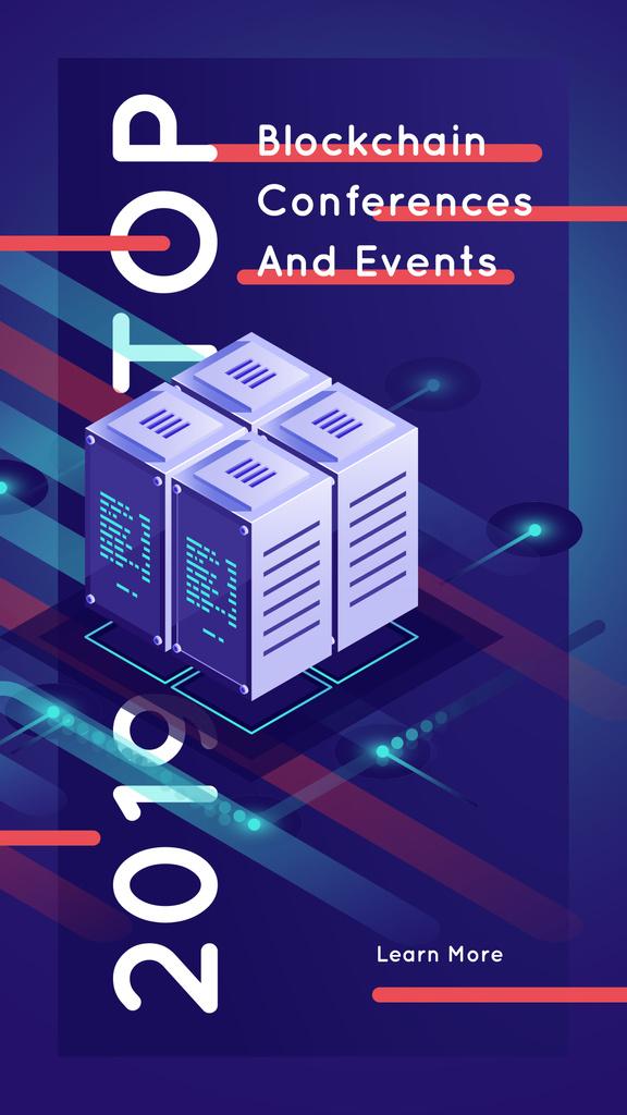 Stack of digital servers — Create a Design