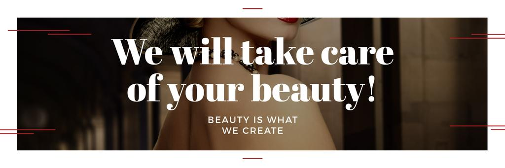 Citation about care of beauty  — Создать дизайн