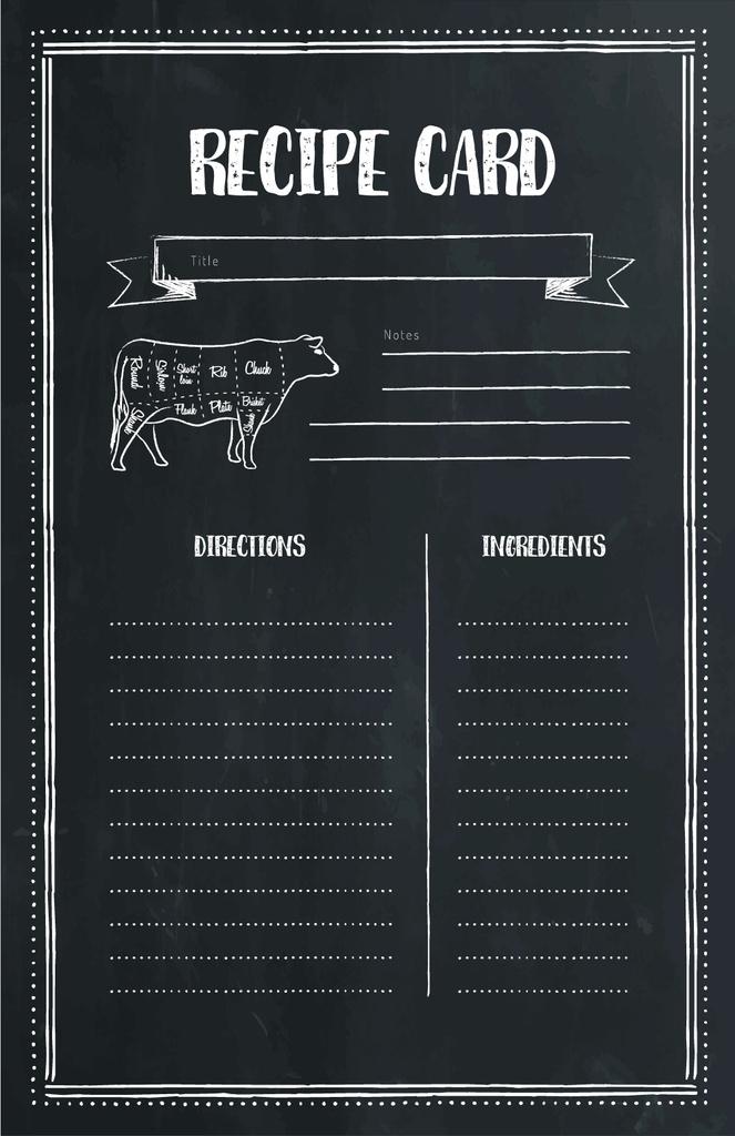 Cow Graphic illustration — Crear un diseño