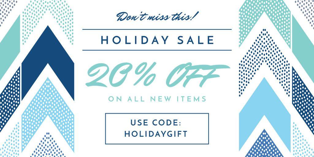 Holiday sale advertisement — Créer un visuel