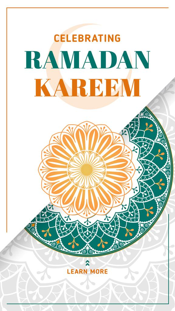 Ramadan Kareem greeting — Create a Design