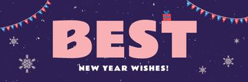 Happy Chinese Pig New Year | Email Header Template