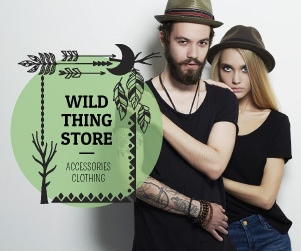 Wild thing store advertisement — Crea un design