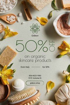 Natural Skincare Products Offer Soap and Salt