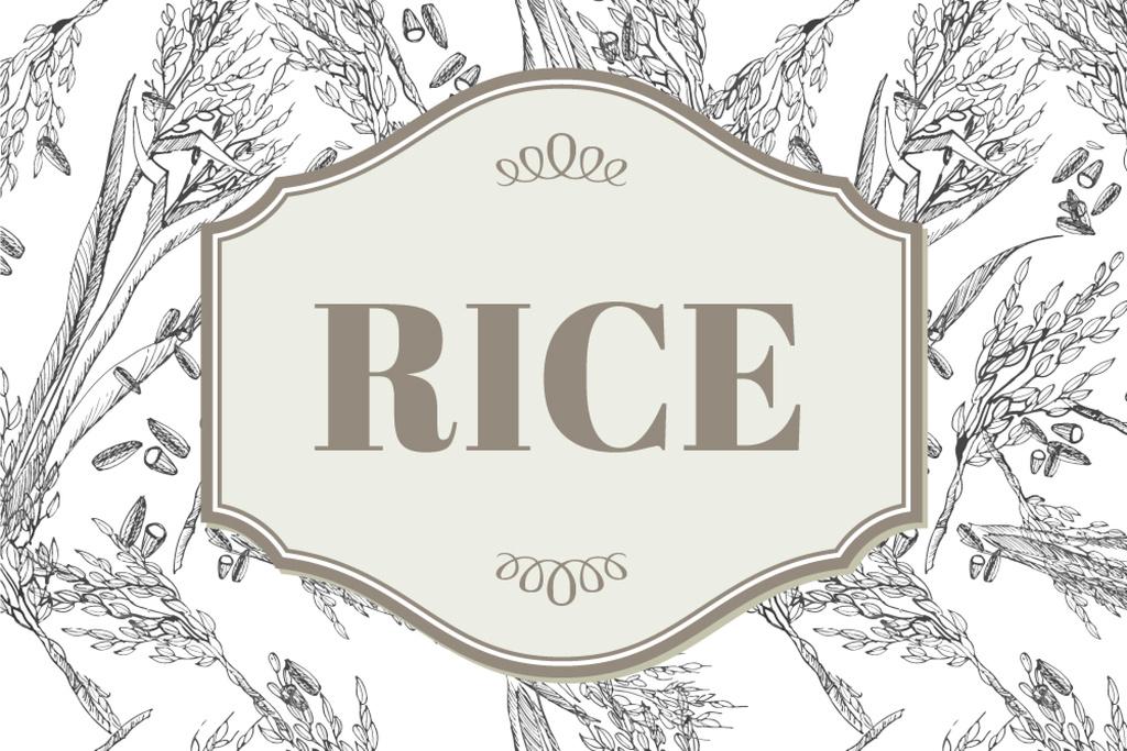 Rice products company ad — Crear un diseño