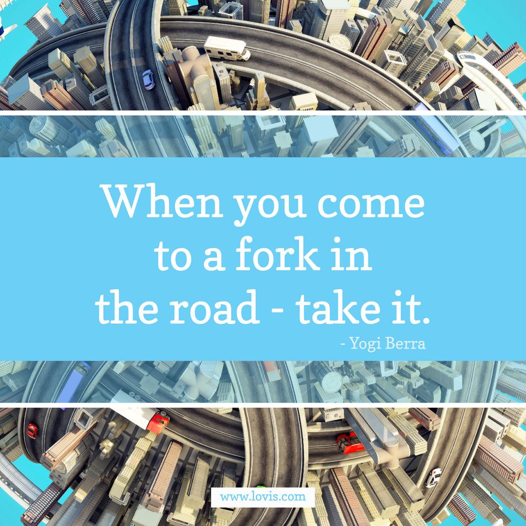 Inspiration quote on City Roads – Stwórz projekt