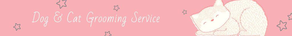 Dog & Cat Grooming Service Leaderboard – шаблон для дизайна