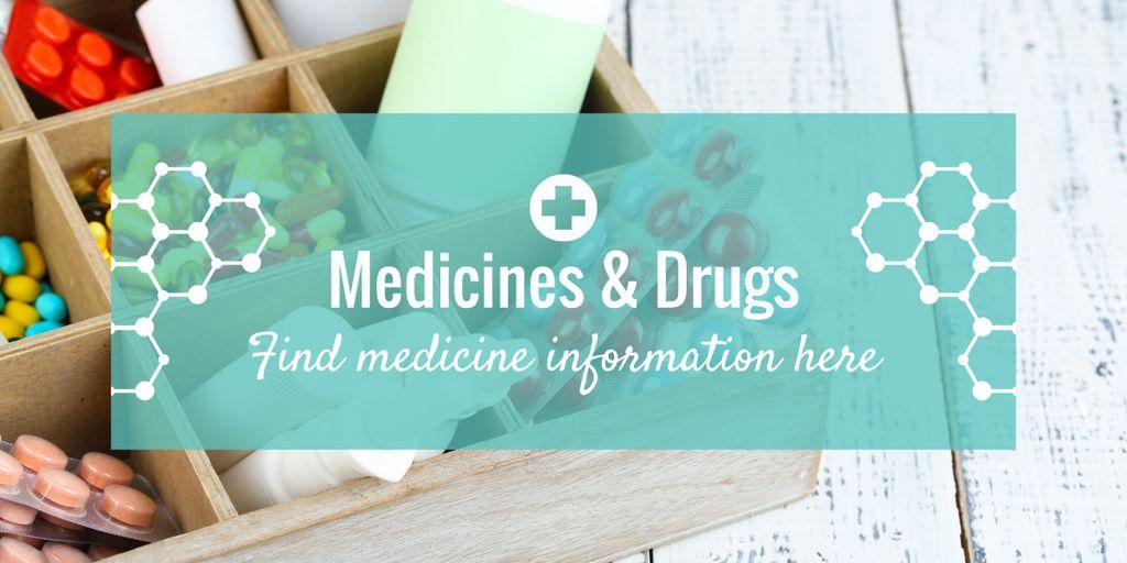 Medicine information banner — Створити дизайн
