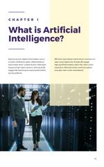 Artificial Intelligence Concept Brain Model