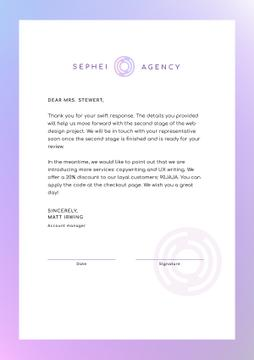 Business Agency official offer
