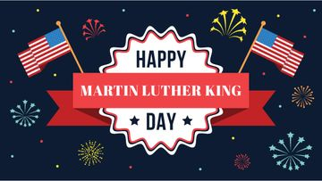 Martin Luther King day card