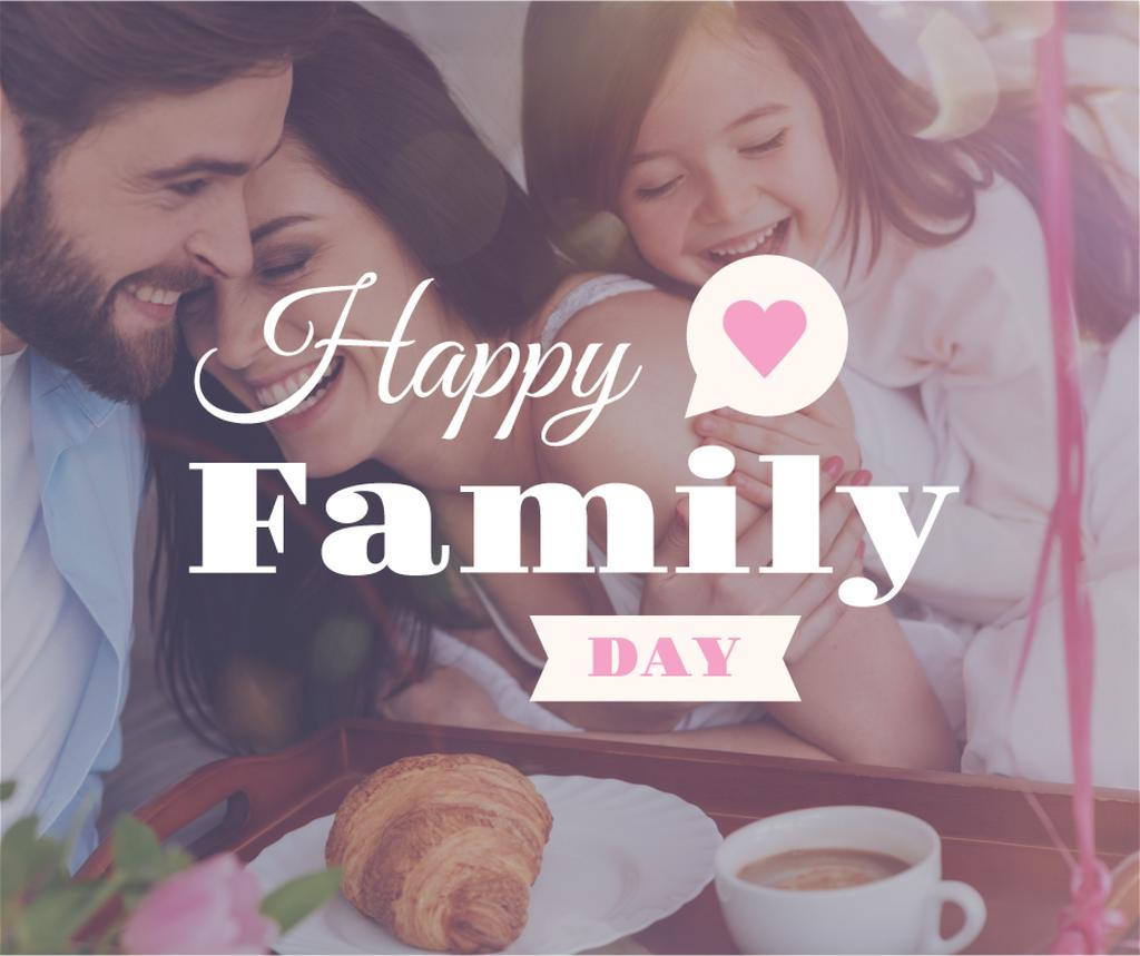 Parents with child on Family Day — Maak een ontwerp