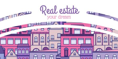 Template di design Real estate banner Image