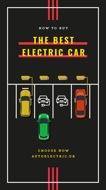 Template di design Charging electric cars Instagram Story