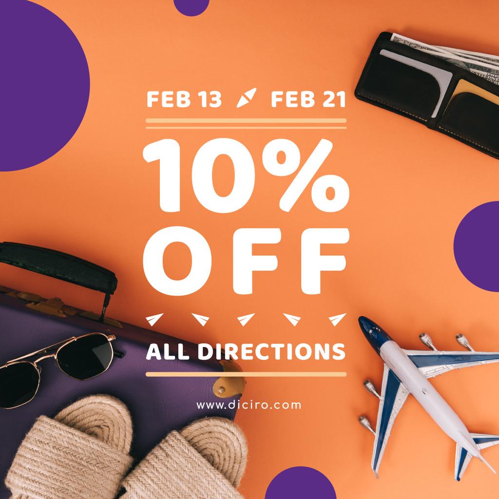 Special Sale with Travel Accessories — Crear un diseño