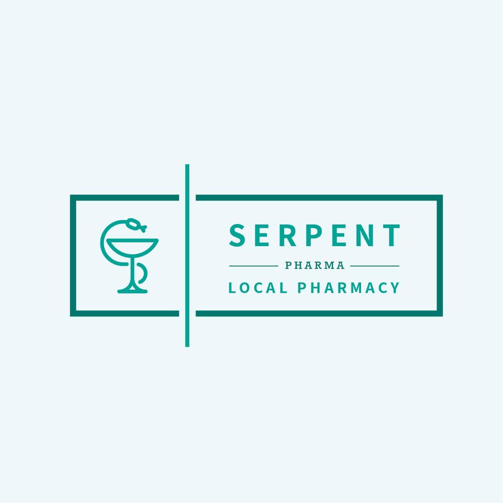 Pharmacy Promotion Snake Icon — ein Design erstellen