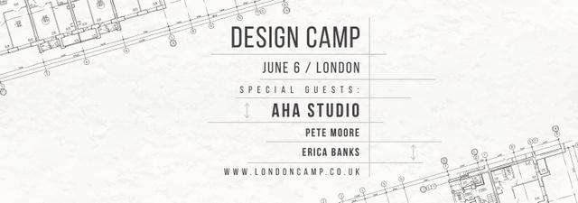 Design camp announcement on blueprint Tumblr – шаблон для дизайну