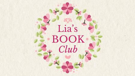Plantilla de diseño de Book Club Ad Circle Frame With Flowers Full HD video