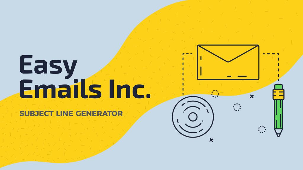 Email Marketing Business File Icon | Full Hd Video Template — Maak een ontwerp
