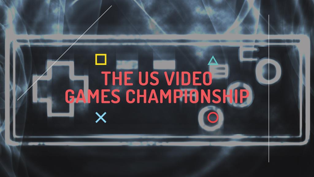Video games Championship  — Створити дизайн