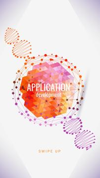 Application promotion on tech pattern