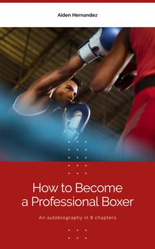 Men Boxing on Ring | eBook Template