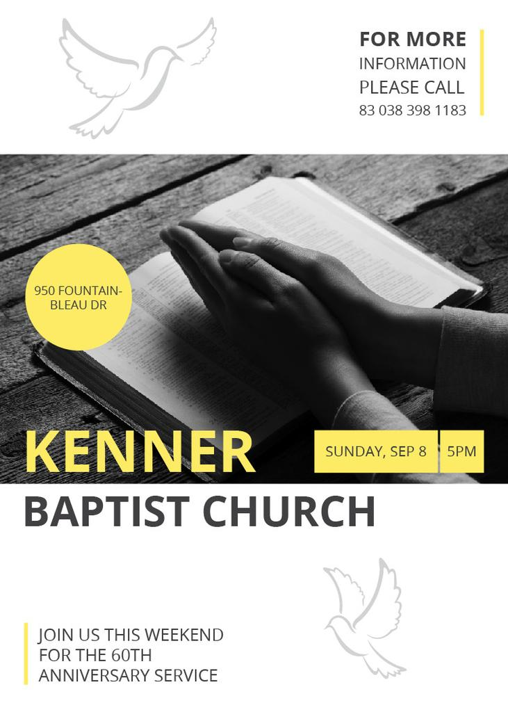 Kenner Baptist Church — Створити дизайн