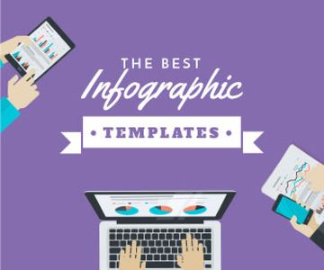 Best infographic templates banner