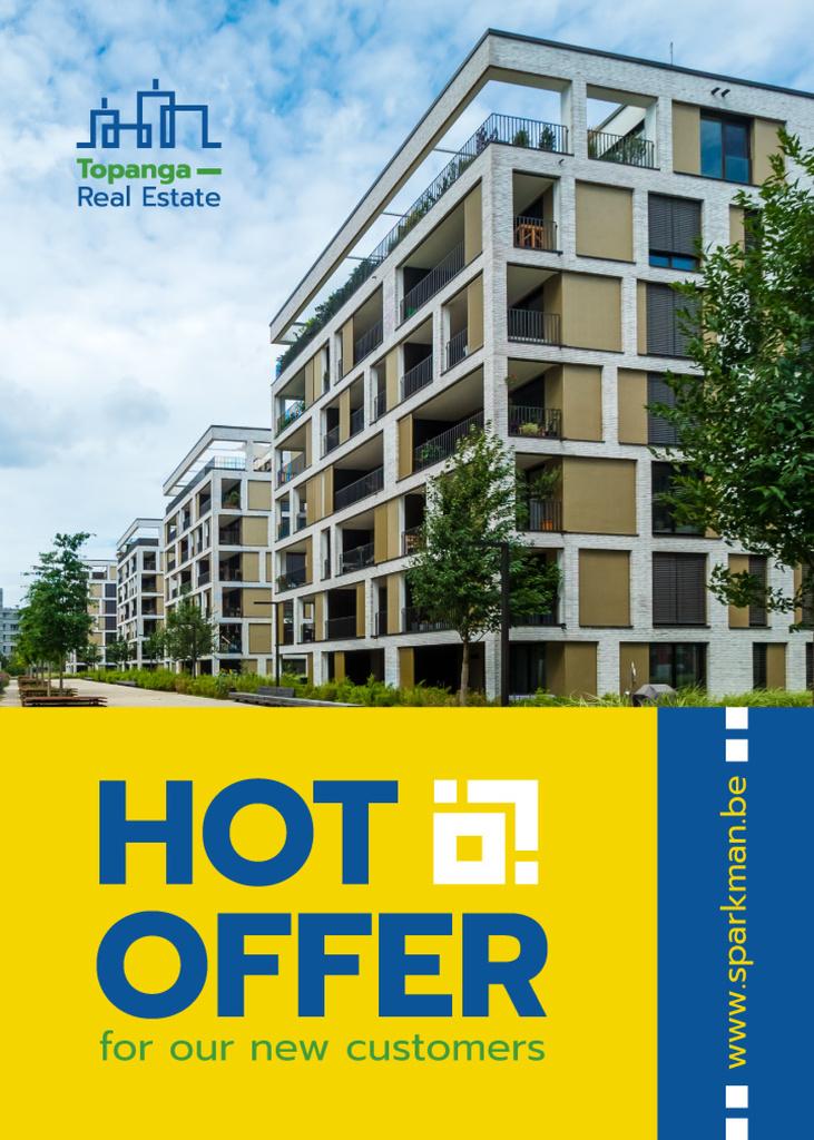 Real Estate Offer Residential Houses | Flyer Template — Créer un visuel