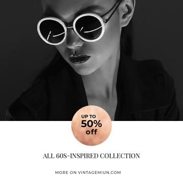 Fashion Sale with Attractive Woman