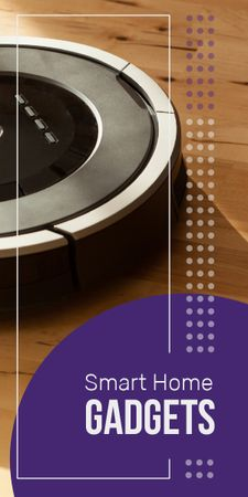 Template di design Robot vacuum cleaner Graphic