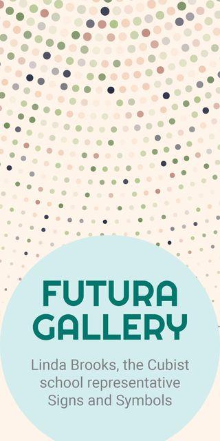 Futura gallery banner Graphic Modelo de Design