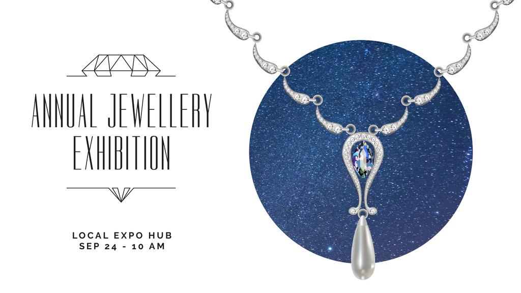 Accessories Offer Necklace with Diamonds — Создать дизайн