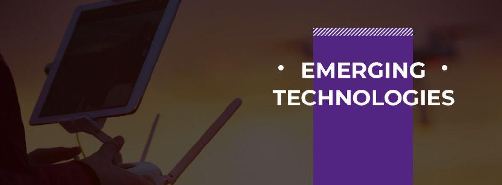 Emerging technologies Annoucement — Créer un visuel