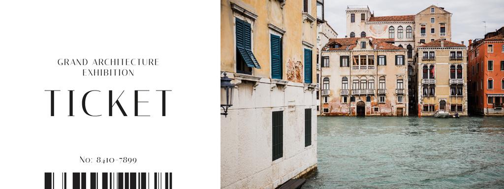 Old Venice buildings — Modelo de projeto